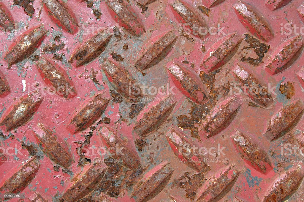 Red Metal royalty-free stock photo