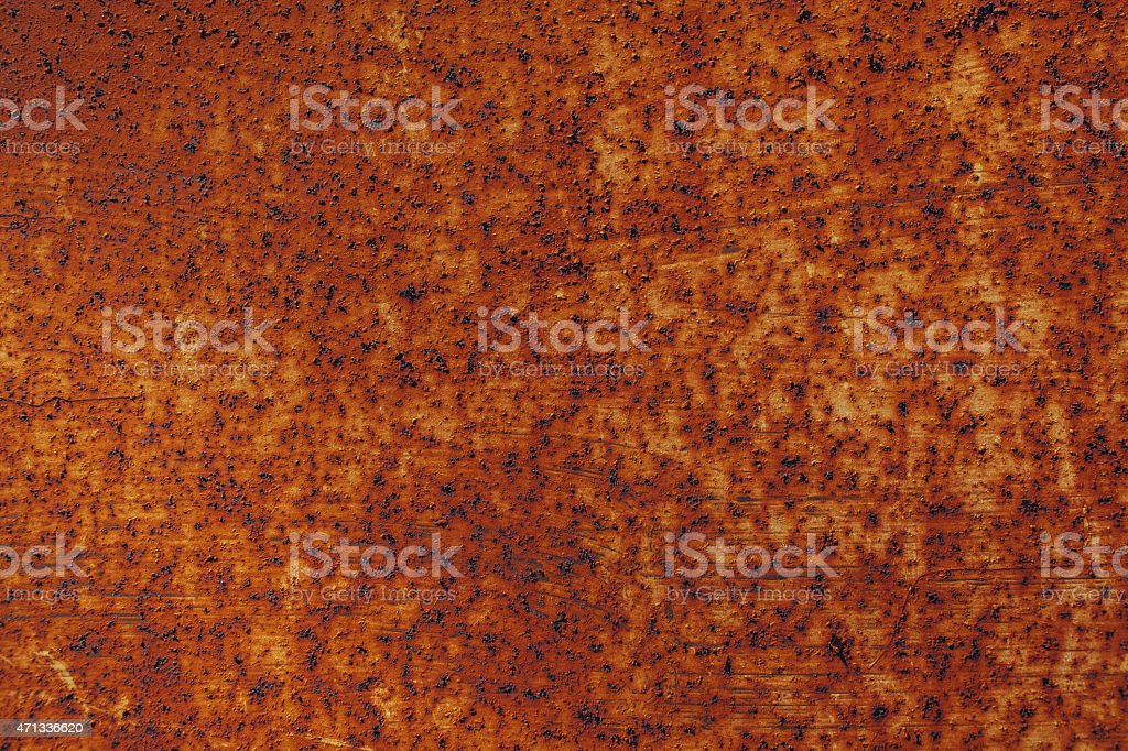 red metal rust stock photo