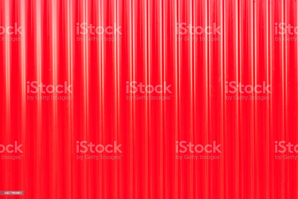 Red metal texture for background stock photo