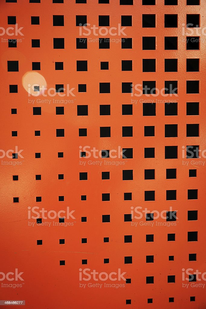 Red metal texture royalty-free stock photo