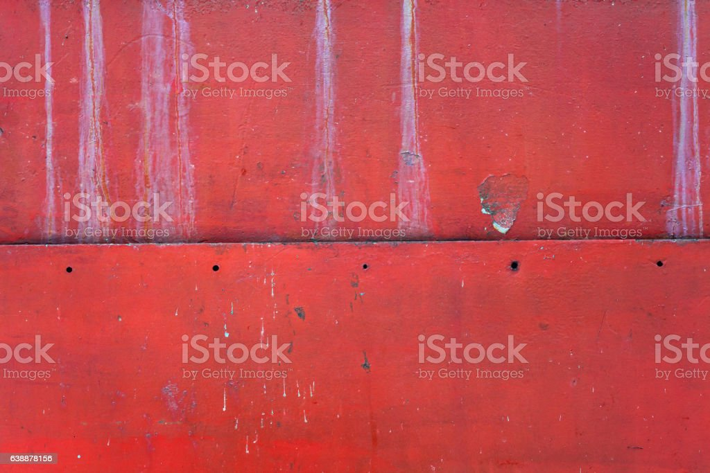 Red Metal Texture stock photo
