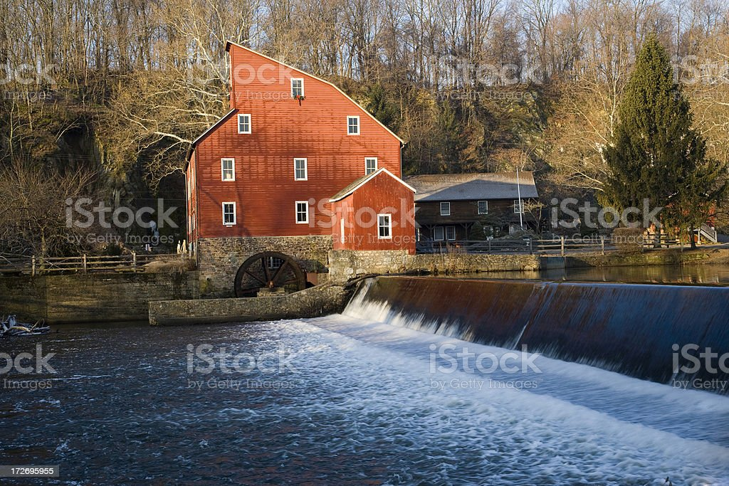 Red Mill stock photo
