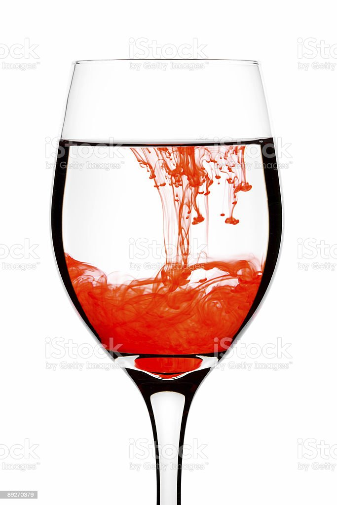 Red - Mixing royalty-free stock photo