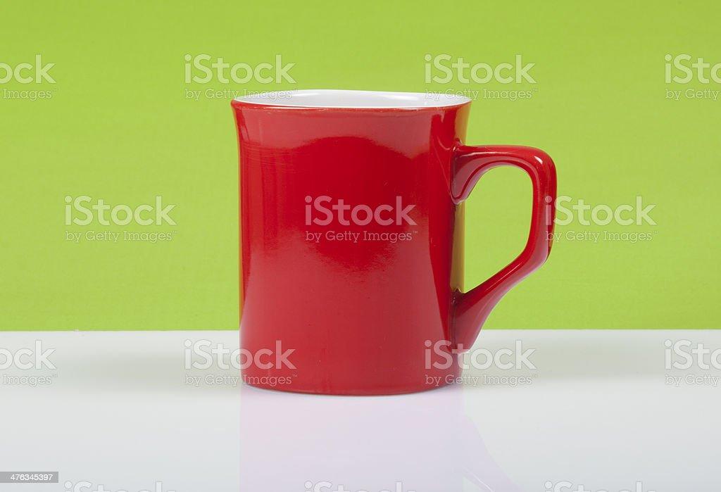 Red Mug royalty-free stock photo