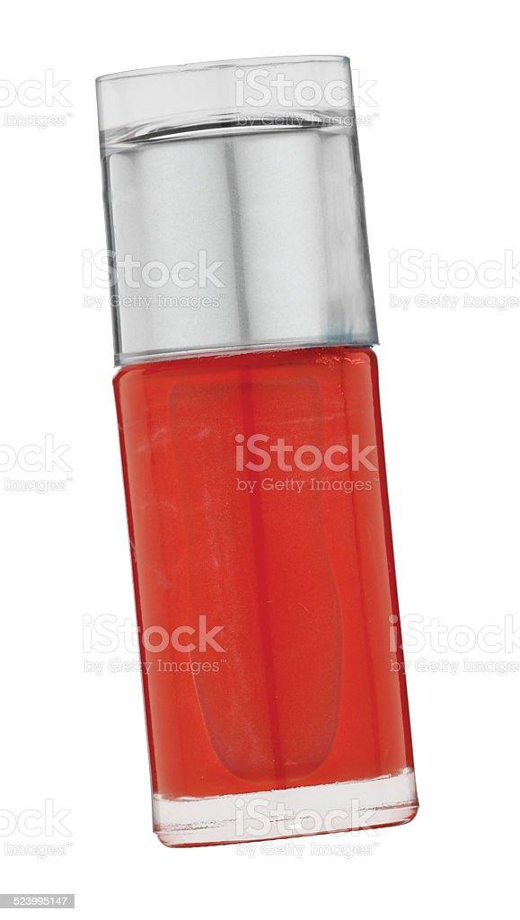 Red Nail Varnish stock photo