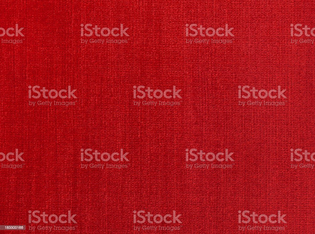 Red Natural Linen stock photo