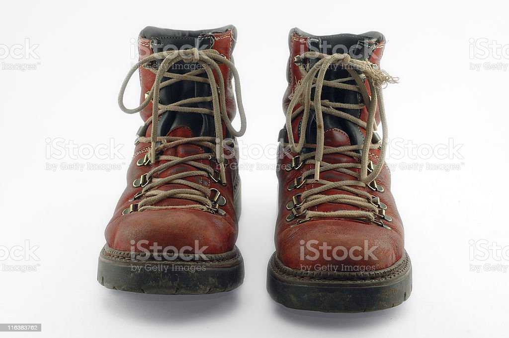 red old shoes royalty-free stock photo