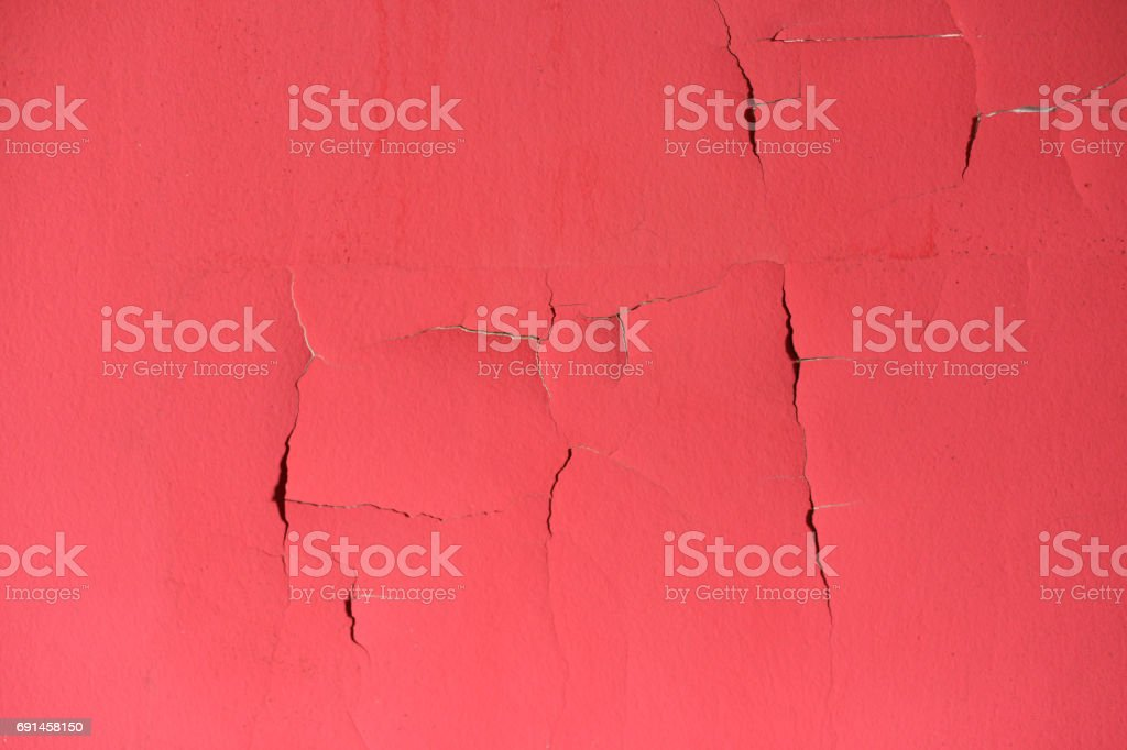 Red old wall stock photo