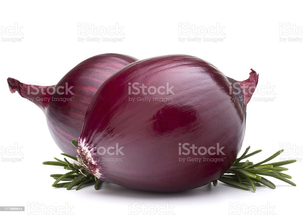 red onion bulb royalty-free stock photo