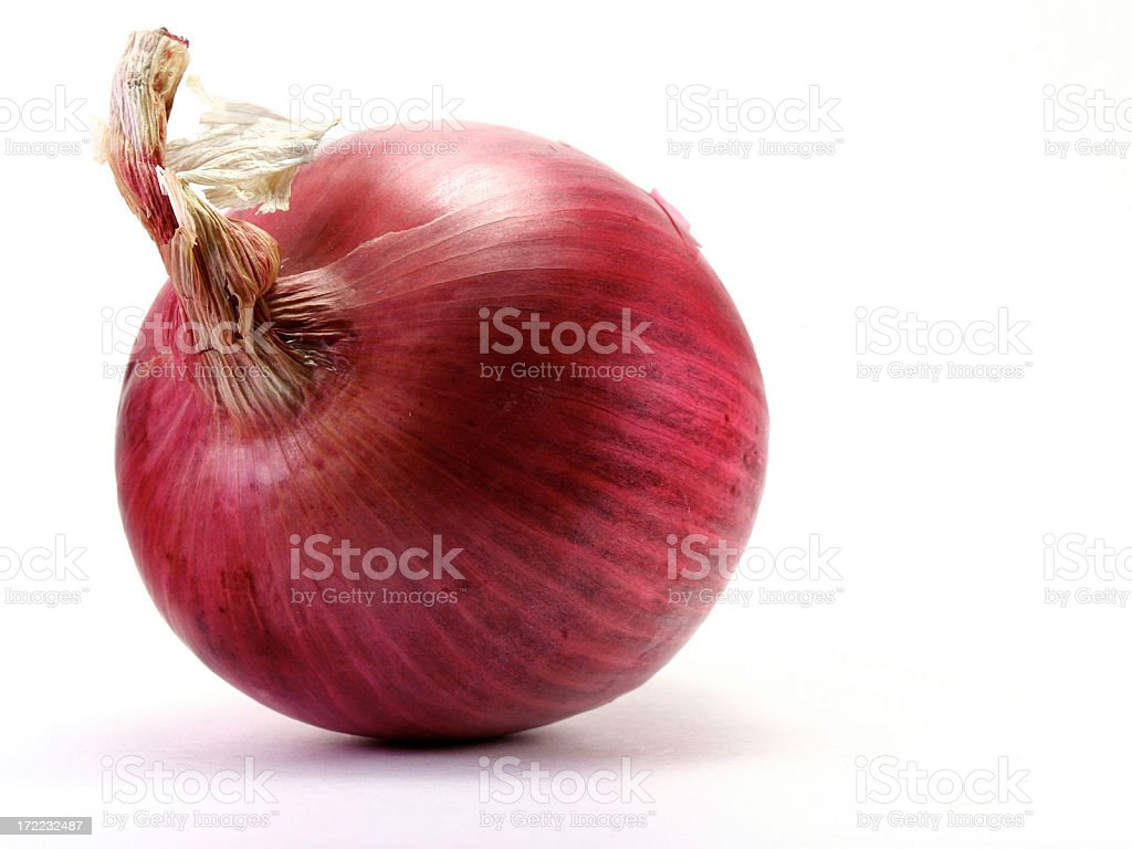 Red Onion royalty-free stock photo