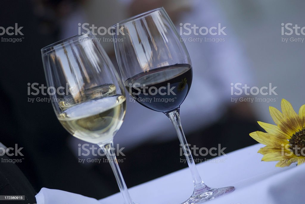 Red or White stock photo