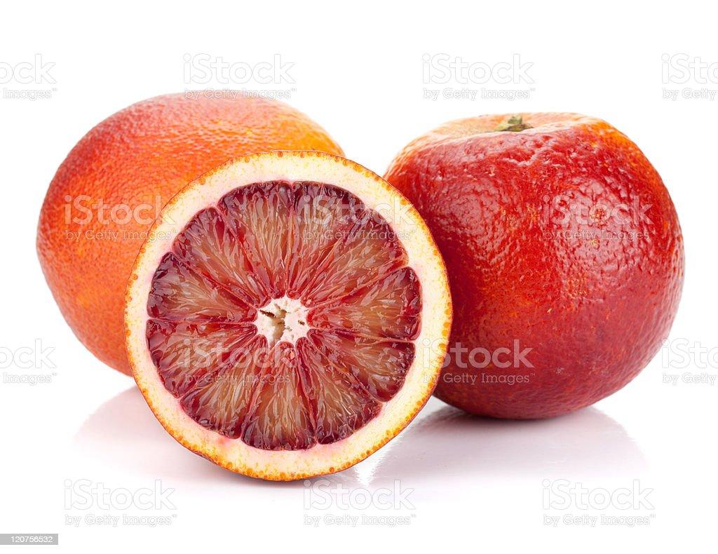 Red oranges stock photo