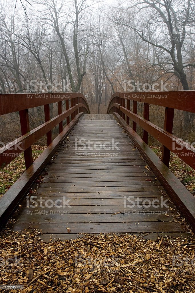 red overpass royalty-free stock photo