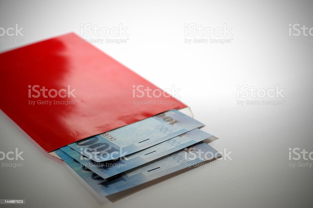 Red Packet stock photo
