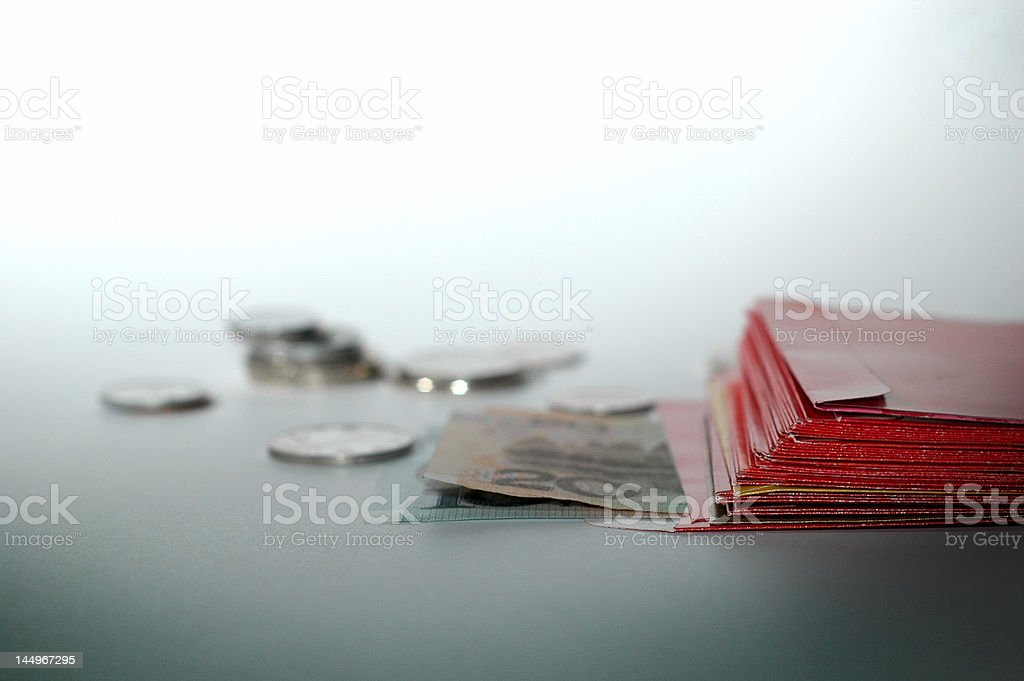 Red Packets royalty-free stock photo