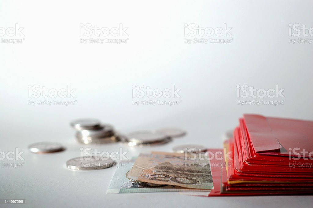 Red Packets stock photo