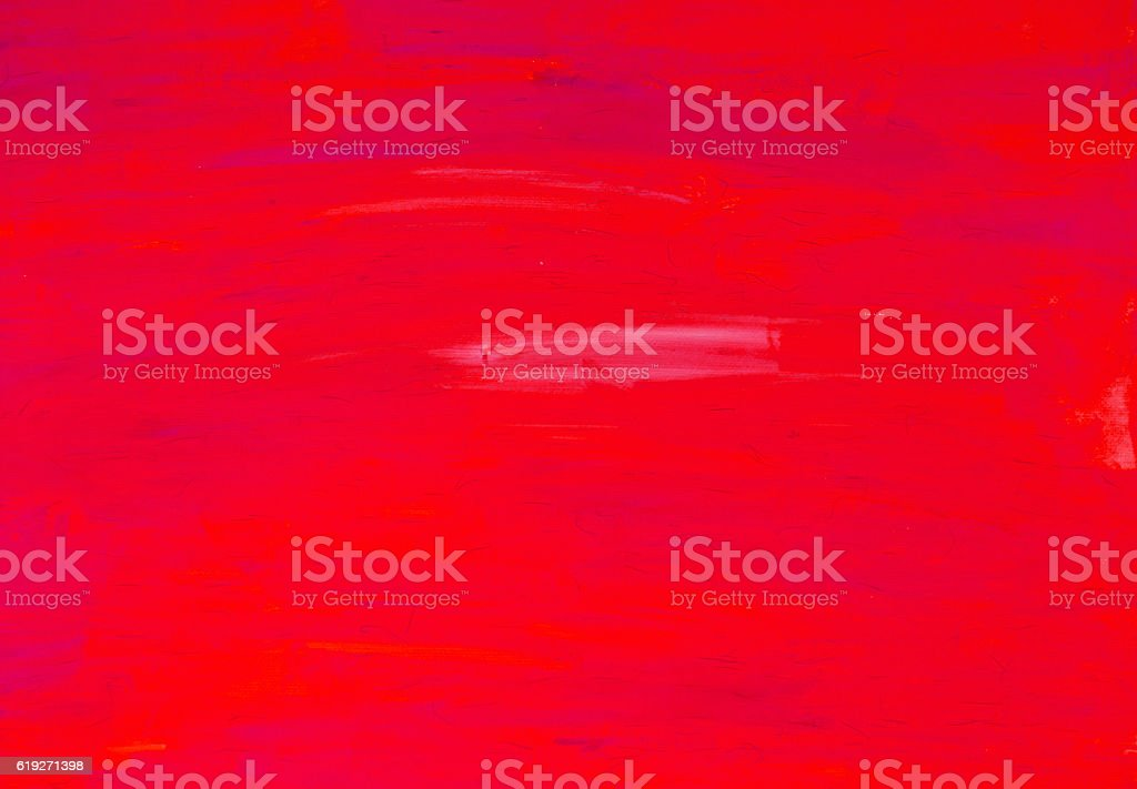 Red painted canvas background stock photo