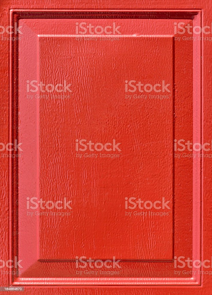 Red Painted Panel Background royalty-free stock photo
