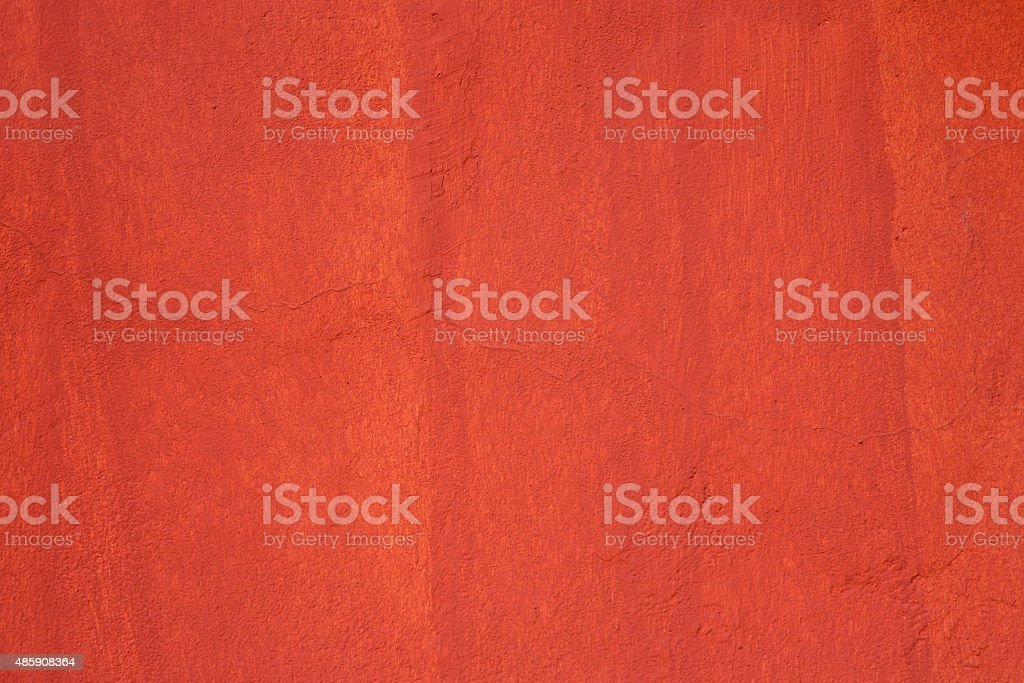Red Painted Wall Background stock photo