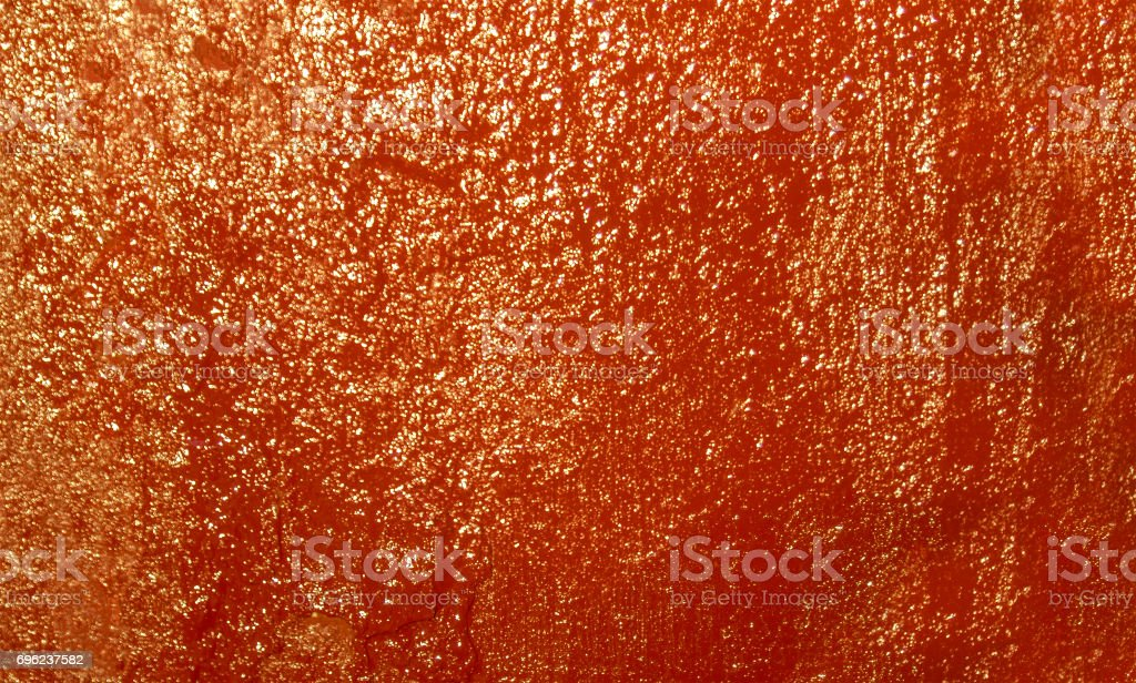 Red painted wall stock photo