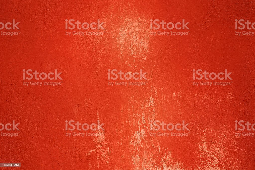 Red painted wall texture royalty-free stock photo