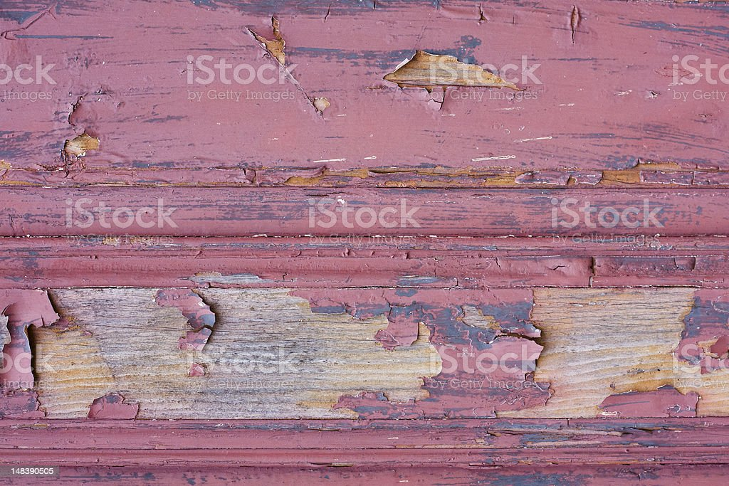 Red painted wood texture royalty-free stock photo