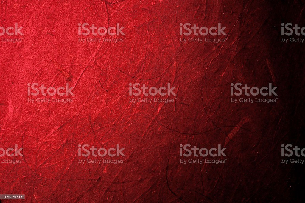 Red paper background with complications stock photo