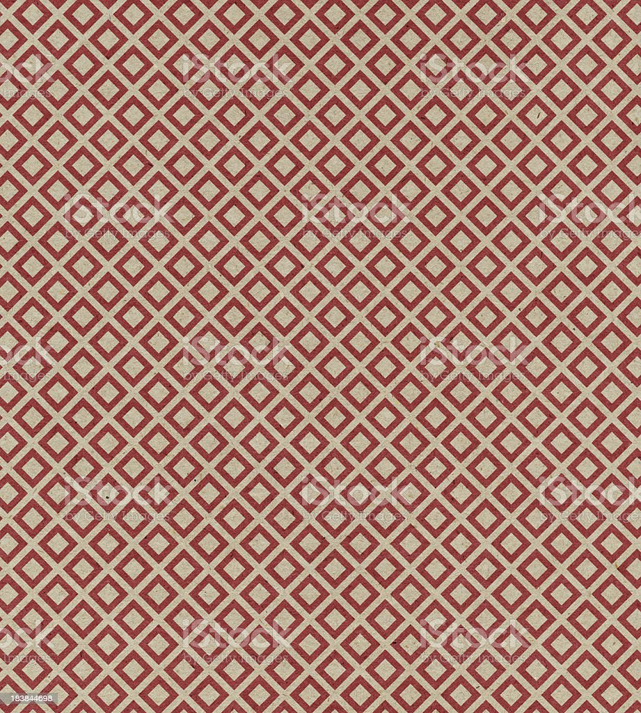 red paper with block pattern royalty-free stock vector art