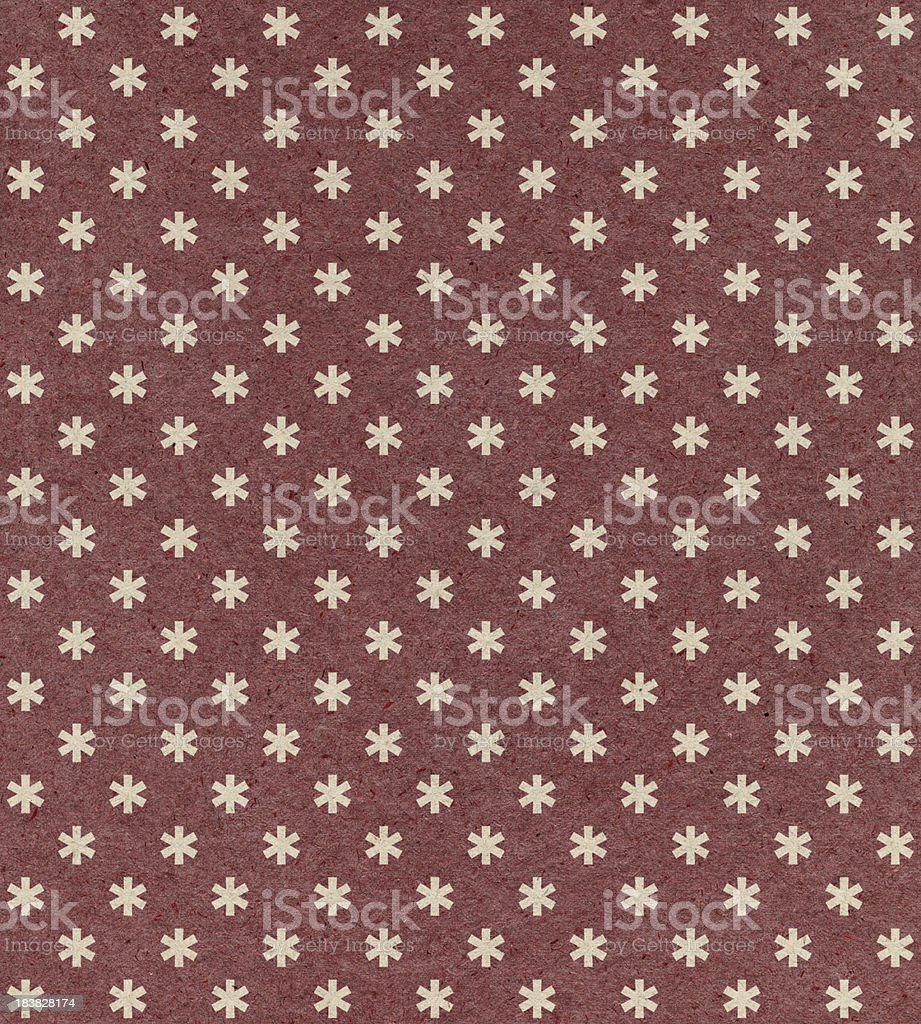 red paper with ornament pattern stock photo