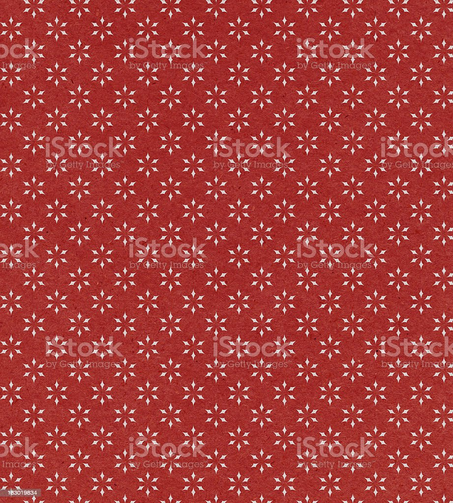 red paper with star pattern royalty-free stock vector art