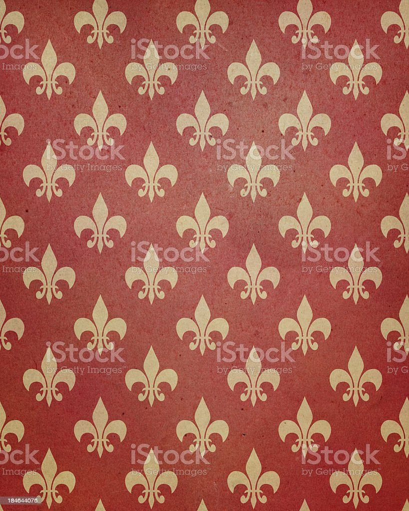 red paper with symbol stock photo