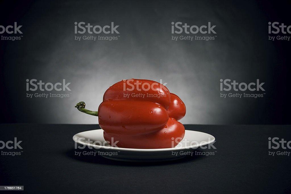 Red paprika royalty-free stock photo
