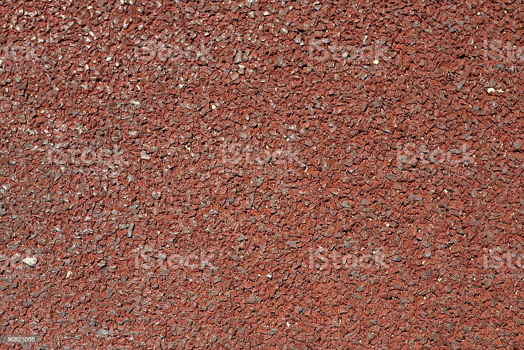 Red pavement royalty-free stock photo