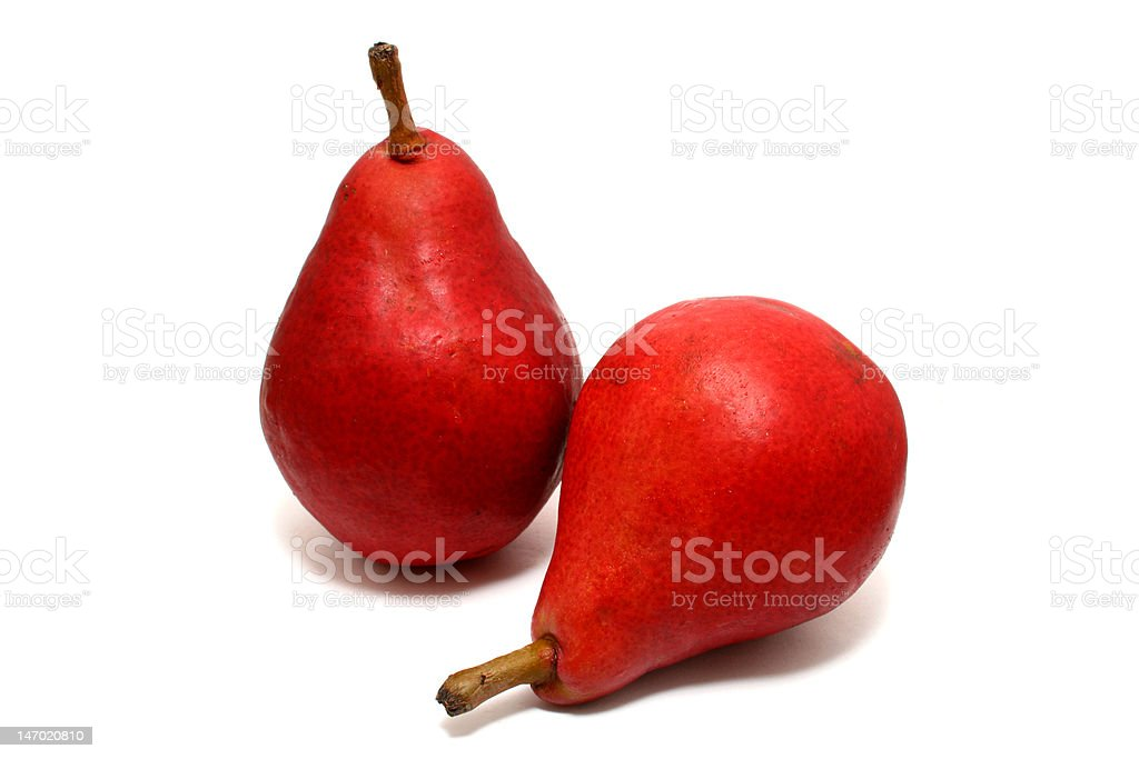 red pear royalty-free stock photo