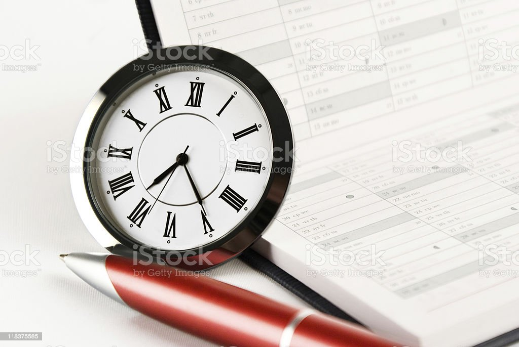 red pen stock photo