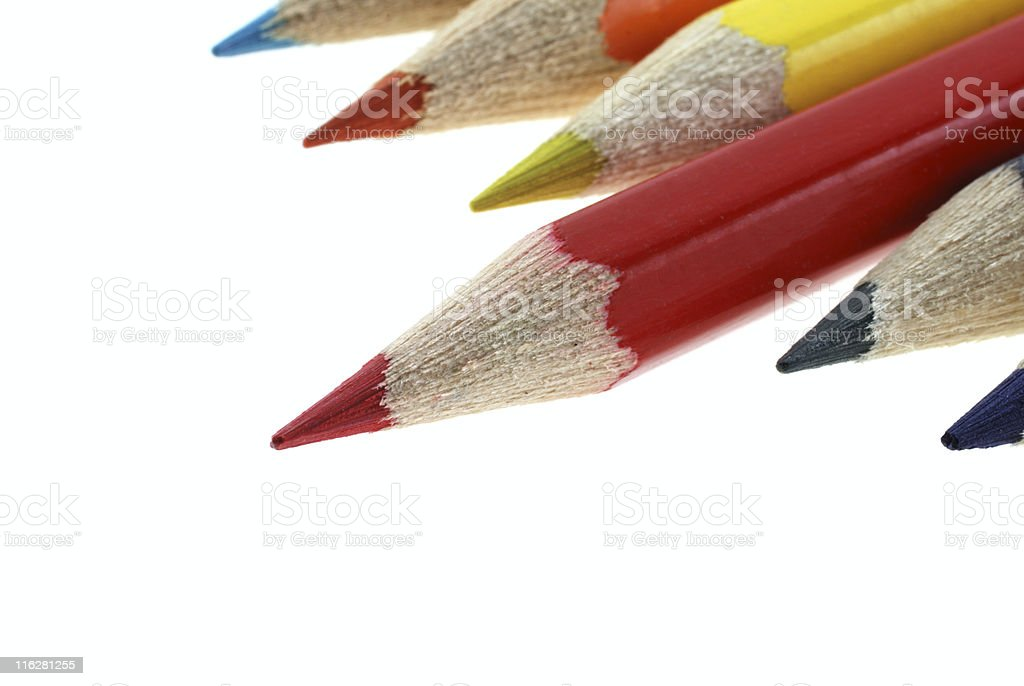 red pencils royalty-free stock photo