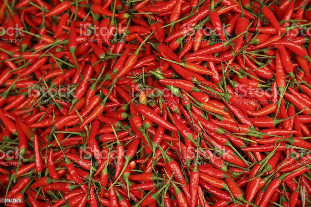 Red peppers background royalty-free stock photo