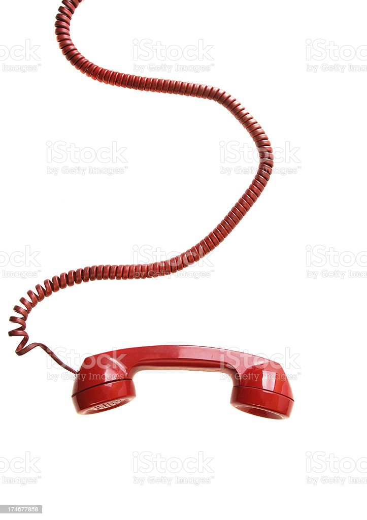 Red Phone royalty-free stock photo