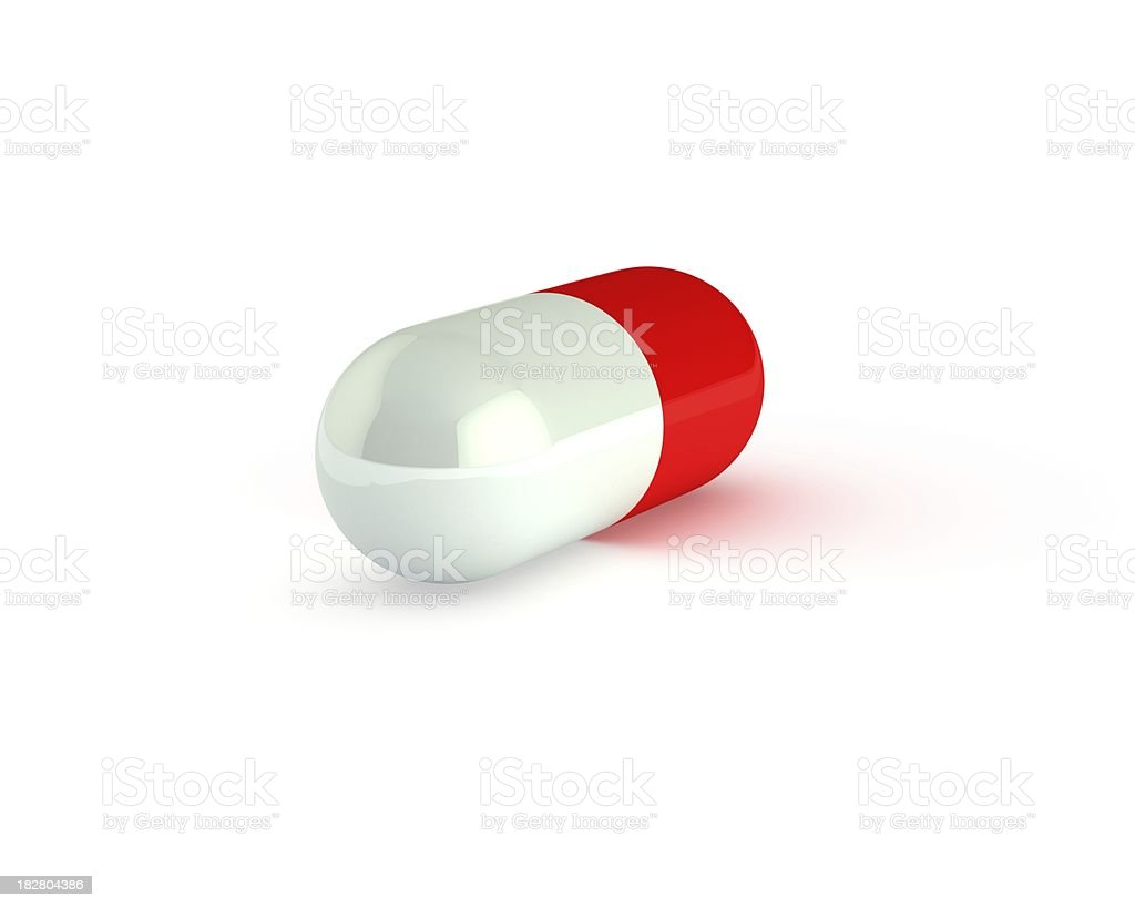 red pill royalty-free stock photo