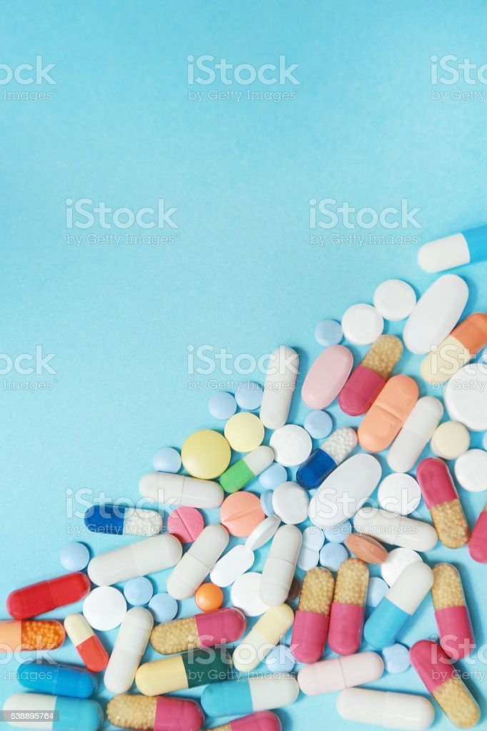 Red Pill stock photo