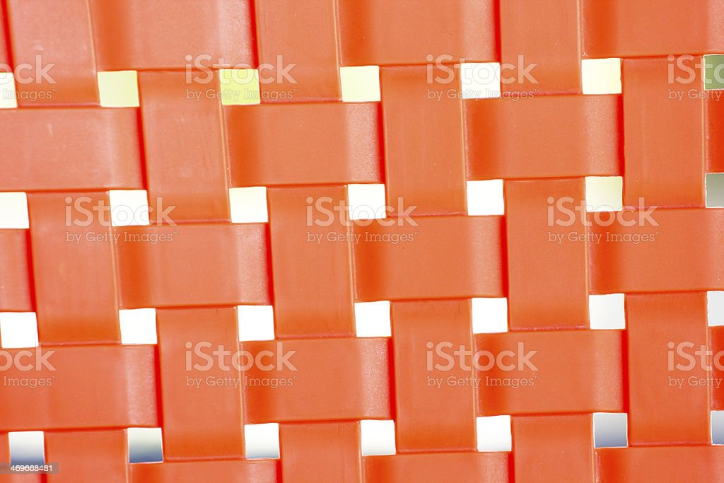 red Placemat, texture royalty-free stock photo
