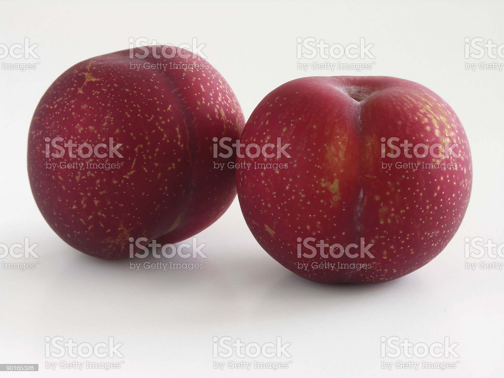 red plums royalty-free stock photo
