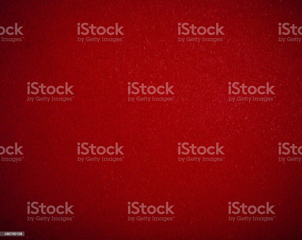 Red poker table stock photo
