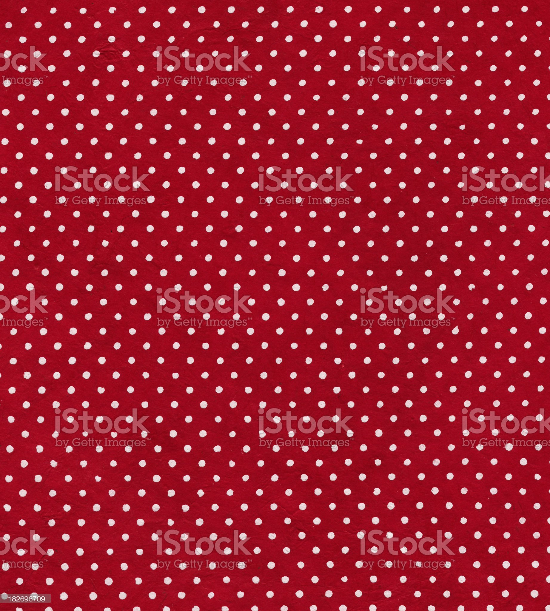 red polka dot paper royalty-free stock vector art