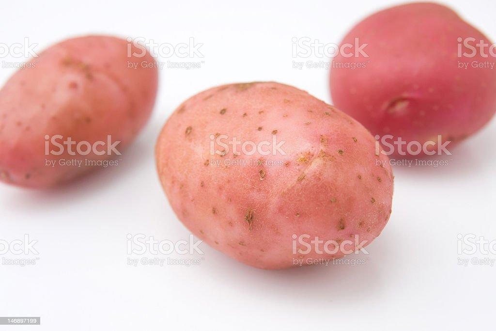 red potato closeup royalty-free stock photo