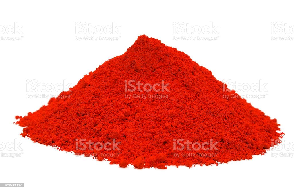Red Powder royalty-free stock photo