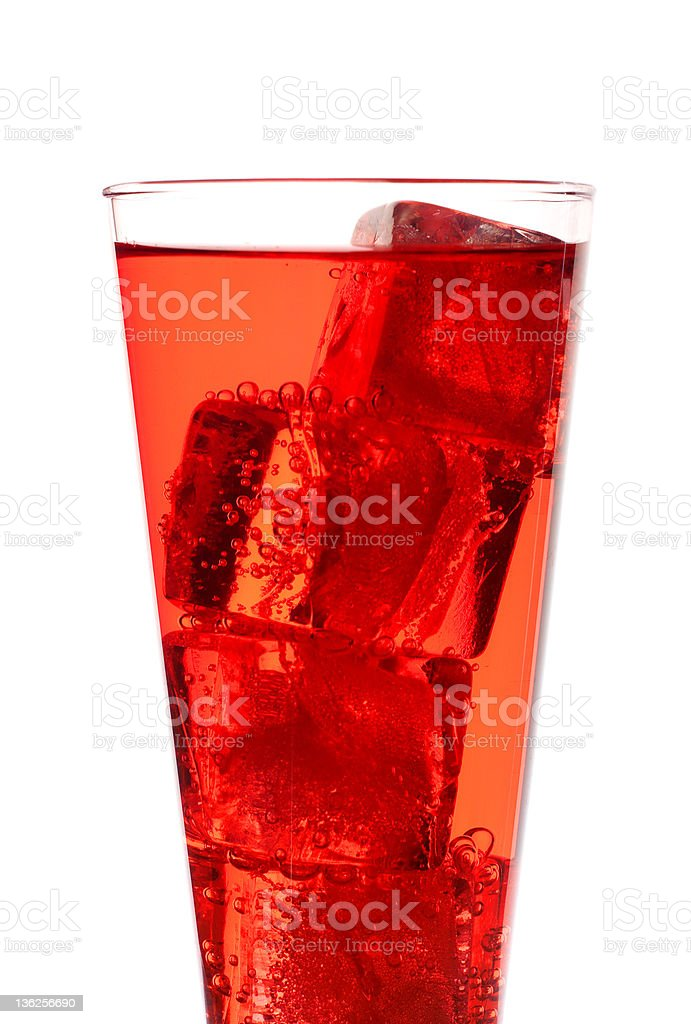 red punch 2 royalty-free stock photo