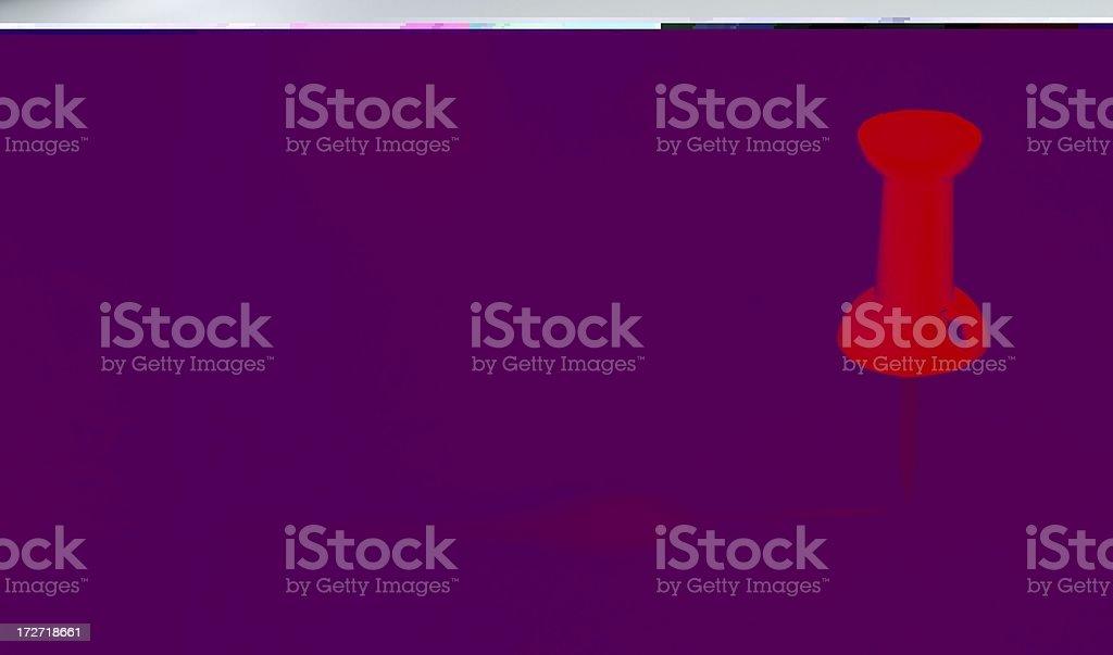 red push pin royalty-free stock photo