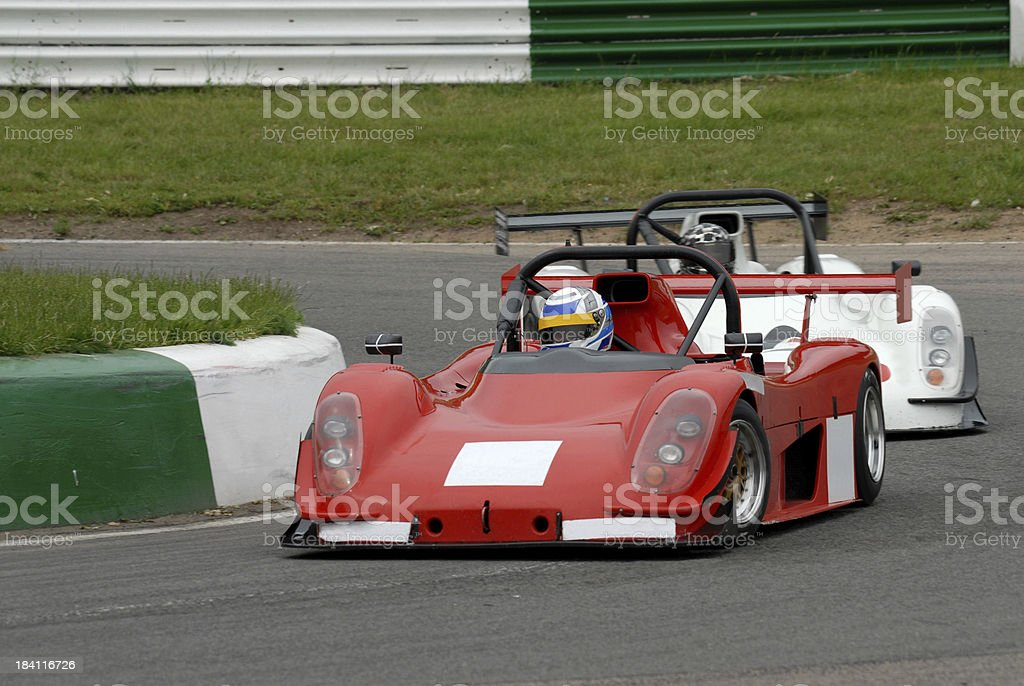 Red Racer royalty-free stock photo