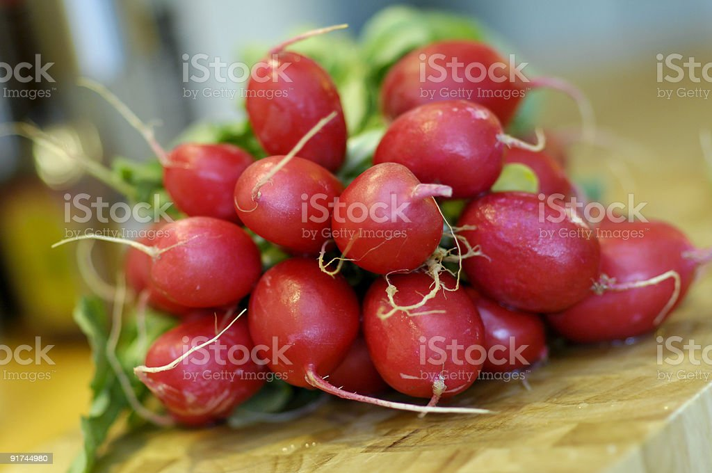 Red radish stock photo